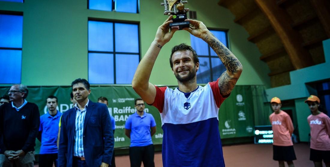 Adrian Ungur, campionul Sibiu Open 2015