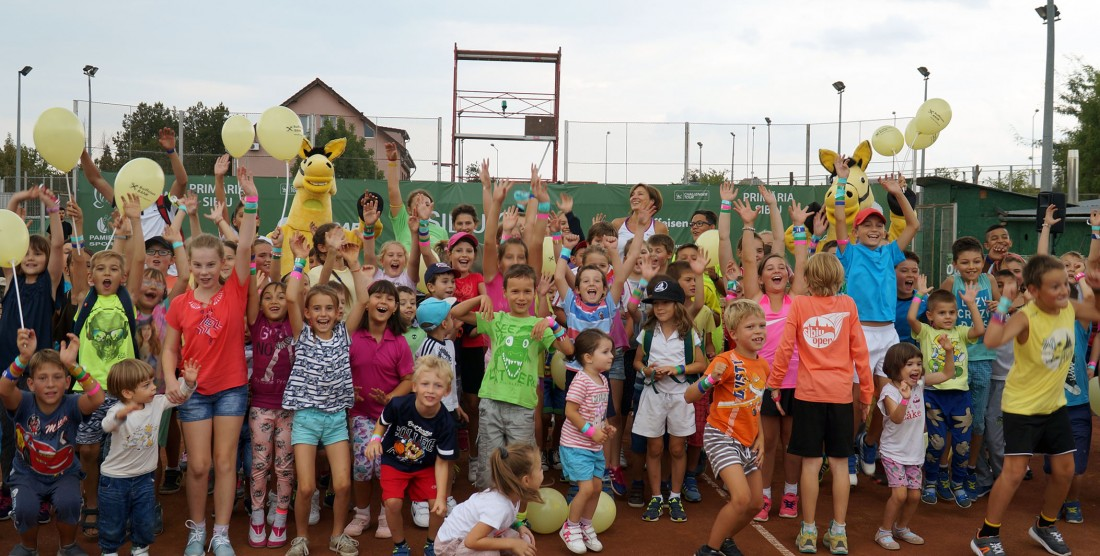 300 de copii la Sibiu Open Kids Day