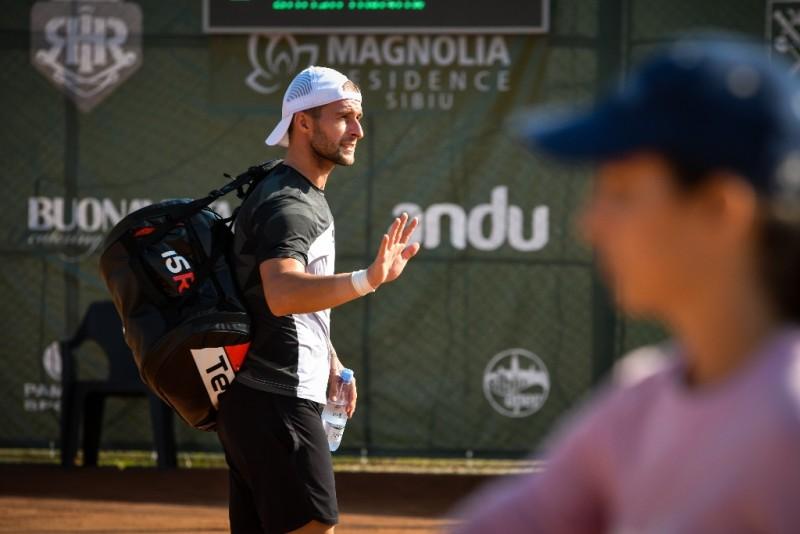 Adi Ungur s-a retras din tenis la Sibiu Open