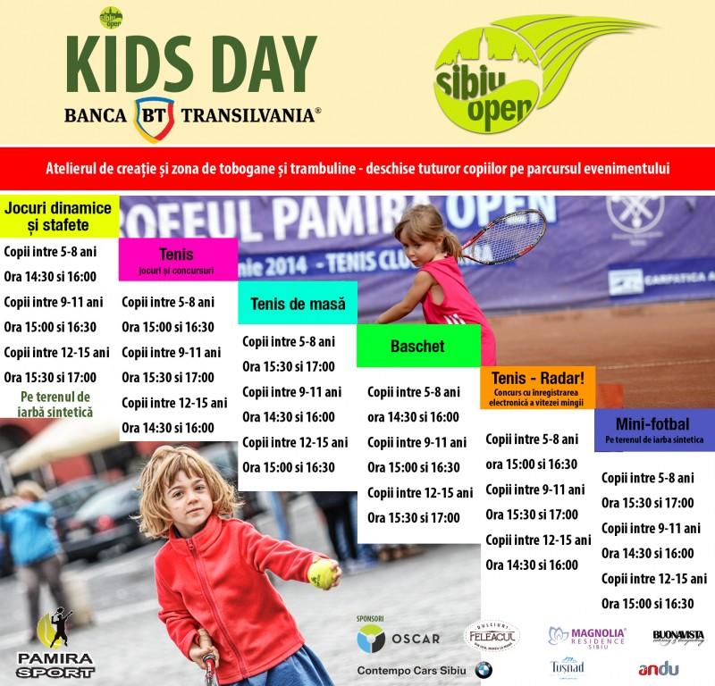 Mihaela Buzărnescu vine la Sibiu Open Kids Day