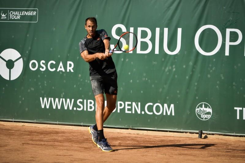Meci de Grand Slam la Sibiu Open