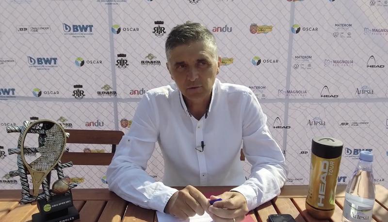 Conferința de presă Sibiu Open 2021