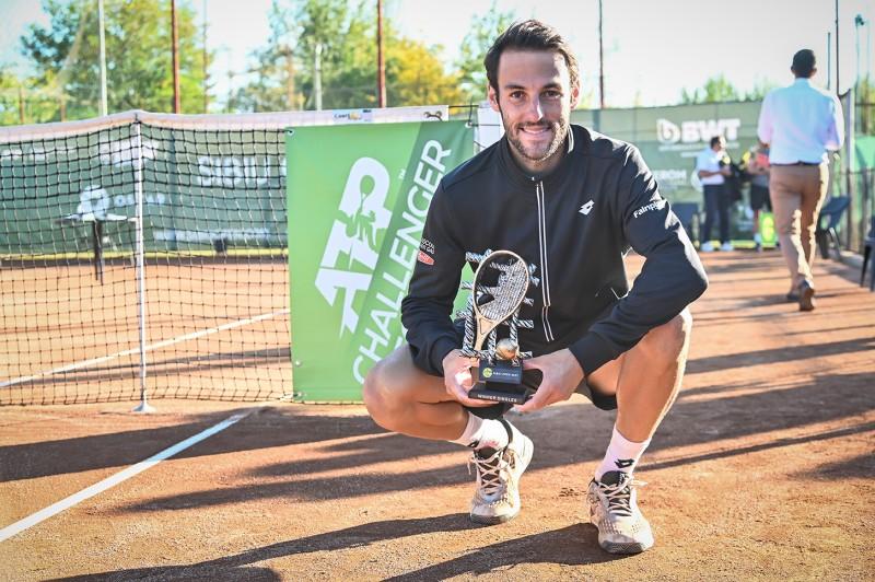 Stefano Travaglia, noul campion la Sibiu Open