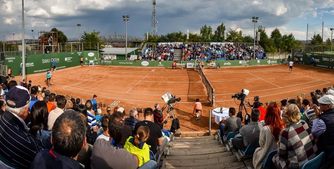 Trei meciuri incredibile azi, la Sibiu Open