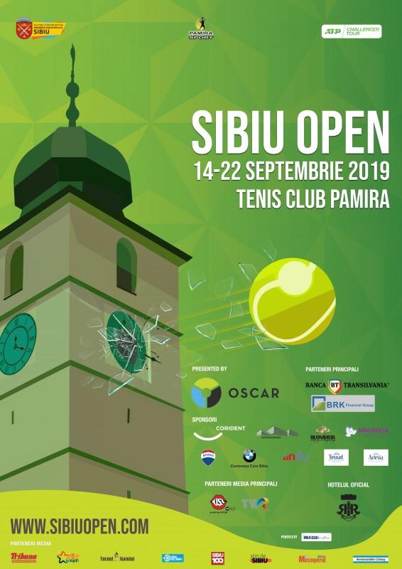 Incepe turneul de wild-card pe tabloul Sibiu Open
