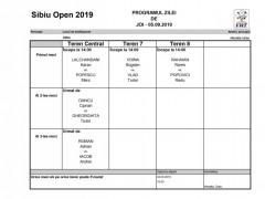 Program Joi - 05.09.2019