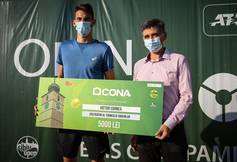 Victor Cornea câștigă turneul sibienilor